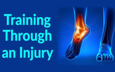 Training through an injury